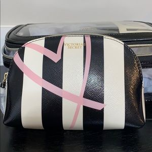 NEW Three Cosmetic/Make up bags. Victoria's Secret